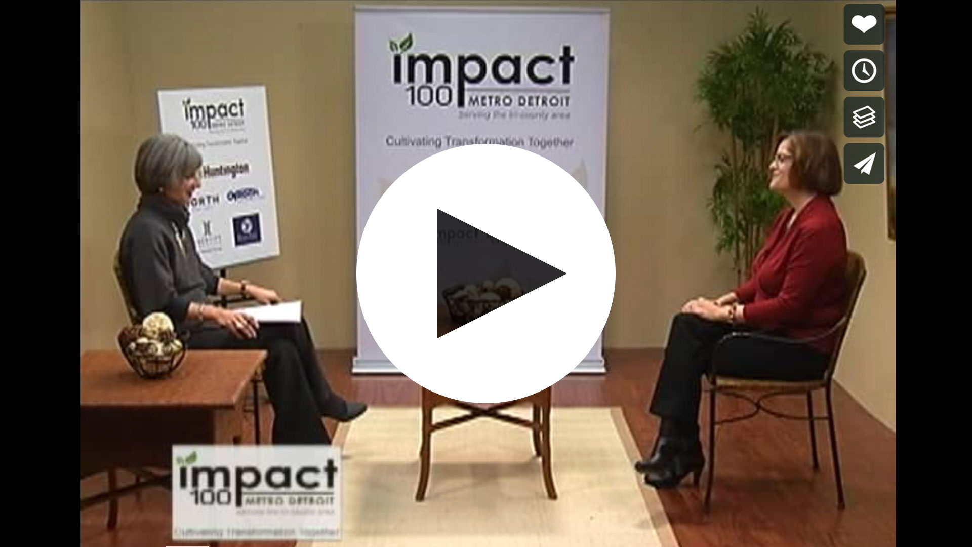 Andrea Foley on Impact 100