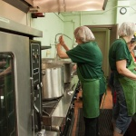 Kitchen prep at the All Saints Soup kitchen