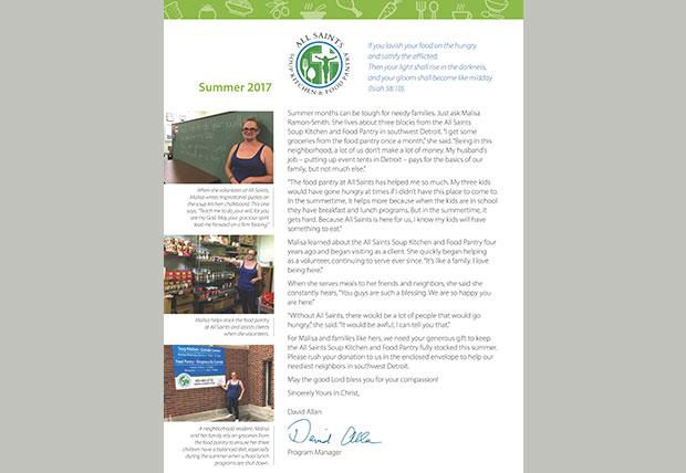 2017 Summer Appeal Letter
