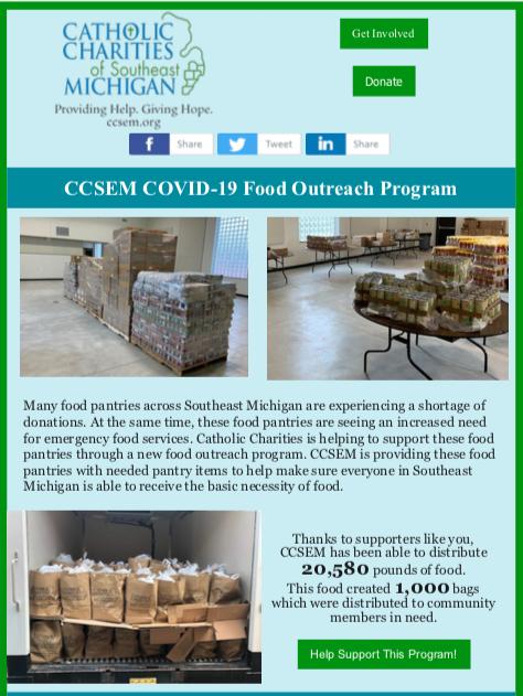 Coronavirus Outreach Special Edition Newsletter